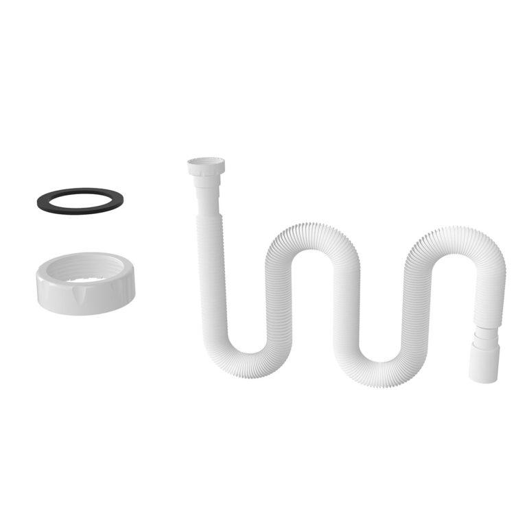 1 ½ – Ø40 Uzun Körük – Düz Conta