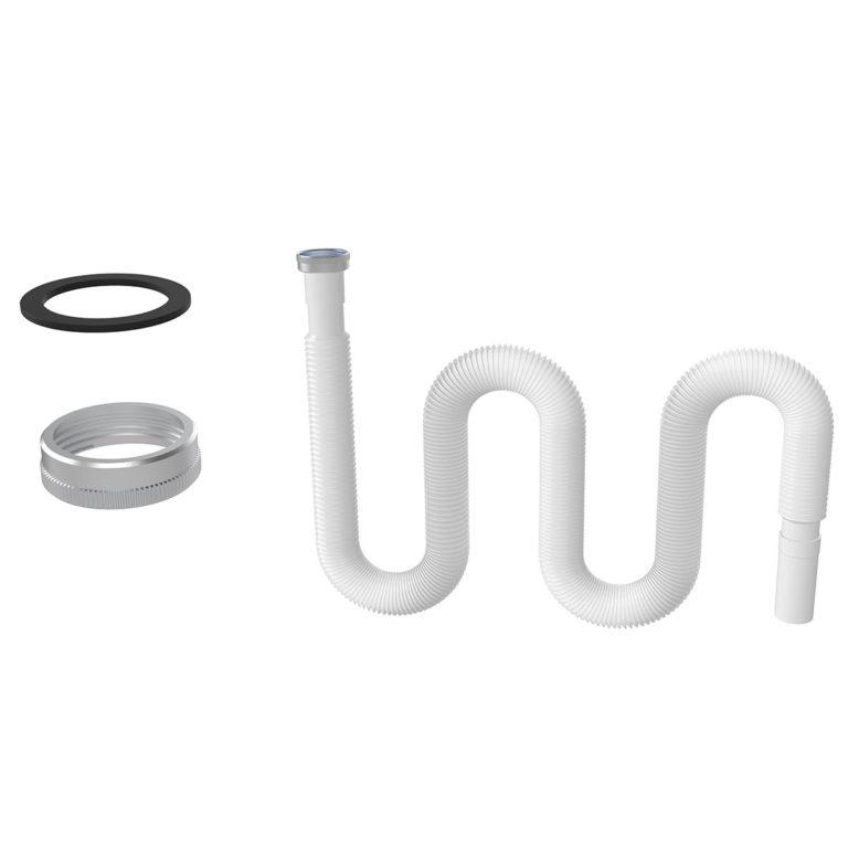 1 ½ – Ø32 Metal Somunlu Uzun Körük – Düz Conta