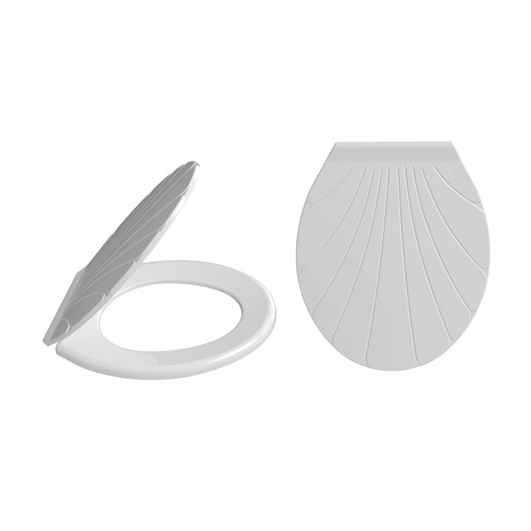 Shell Model Toilet Seat
