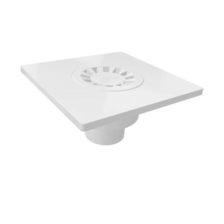 15x15cm Vertical Ø50 outlet plastic floor drain