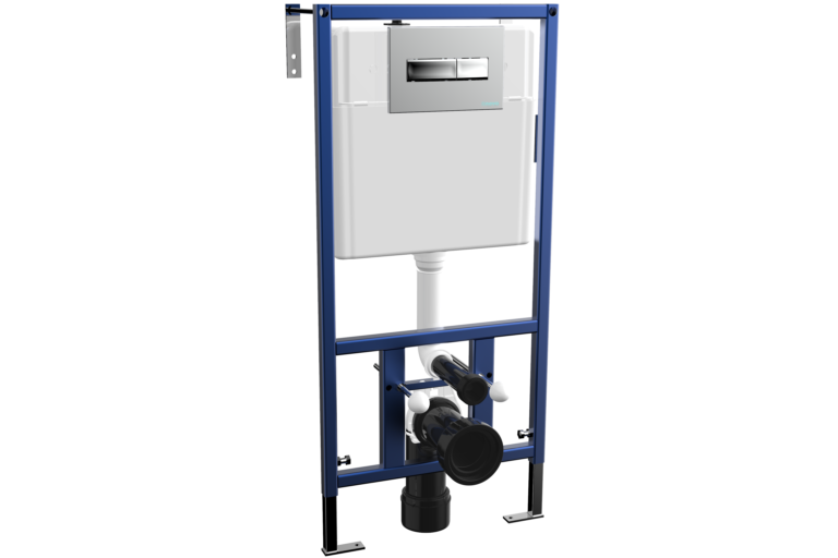 In-Wall Concealed Cistern with Metal Frame